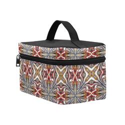 X Marks the Spot Geometric Cosmetic Bag/Large (Model 1658)