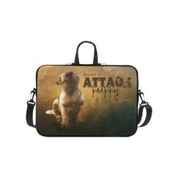 "Cute painting pug puppy Laptop Handbags 10"""