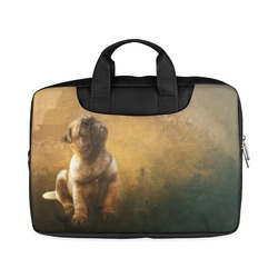 """Cute painting pug puppy Macbook Air 15""""(Twin sides)"""