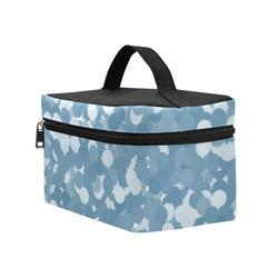 Niagara Polka Dot Bubbles Cosmetic Bag/Large (Model 1658)