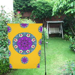 Sweet as candy and yellow Garden Flag 12''x18''(Without Flagpole)