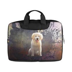 "A cute painting golden retriever puppy Macbook Air 15""(Twin sides)"