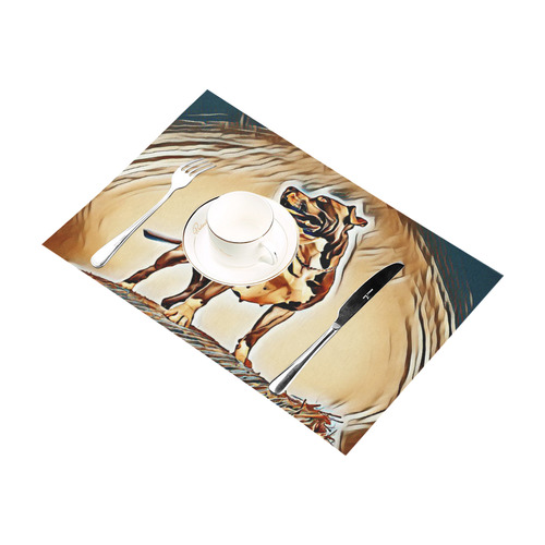 Artful Steff Placemat 12'' x 18'' (Two Pieces)