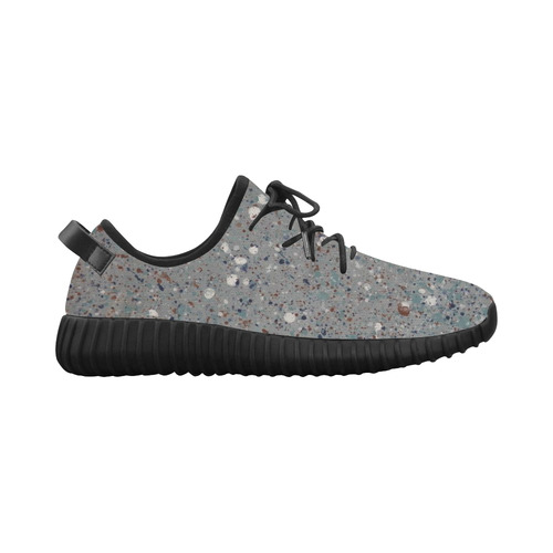 Abyssal Blizzard Grus Women's Breathable Woven Running Shoes (Model 022)