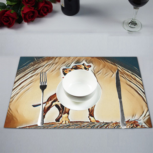 Artful Steff Placemat 12'' x 18'' (Four Pieces)