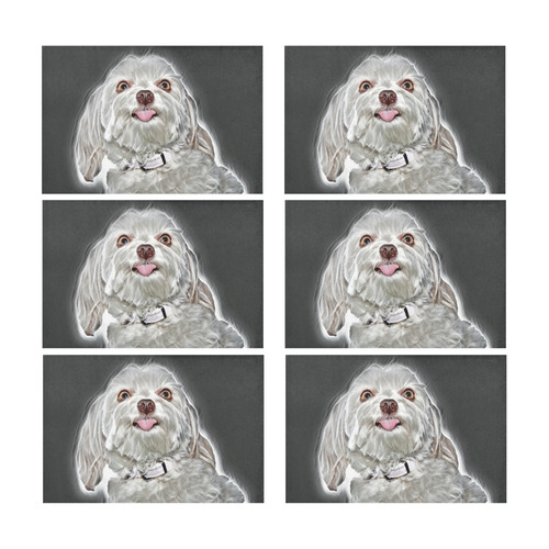 Cheeky Lovely Buddy Placemat 12'' x 18'' (Six Pieces)