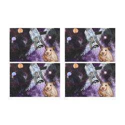 22 Placemat 12'' x 18'' (Four Pieces)