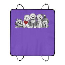 5 sheepies-purple New Pet Car Seat 55''x58''