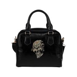 skull witg big eyes A Shoulder Handbag (Model 1634)
