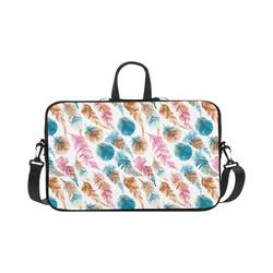 "Colorful Boho Feathers Macbook Pro 17"""
