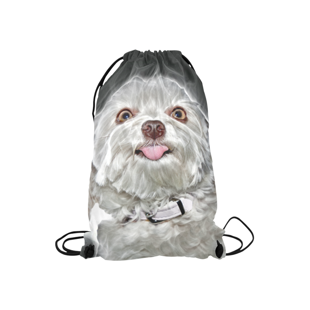 "Cheeky Lovely Buddy Small Drawstring Bag Model 1604 (Twin Sides) 11""(W) * 17.7""(H)"