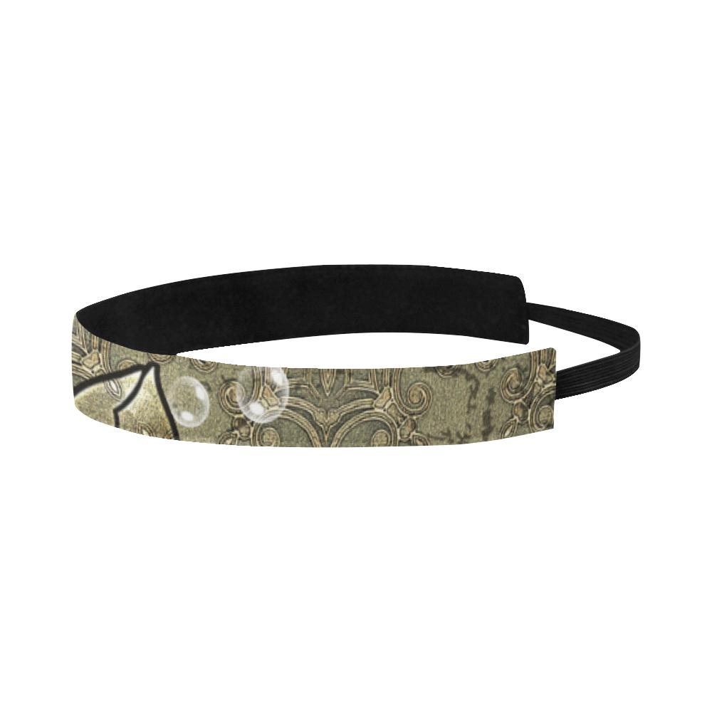 Noble flower design Sports Headband