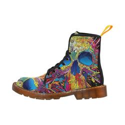 SKULL Martin Boots For Women Model 1203H