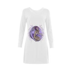 Beautiful fairy Demeter Long Sleeve Nightdress (Model D03)