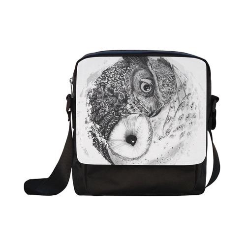 OWL Crossbody Nylon Bags (Model 1633)