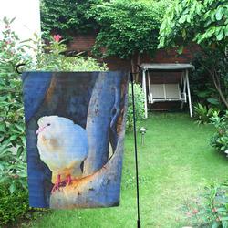 White Bird on Branch Garden Flag 12''x18''(Without Flagpole)