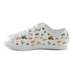 Sushi Lover Canvas Kid's Shoes (Model 016)
