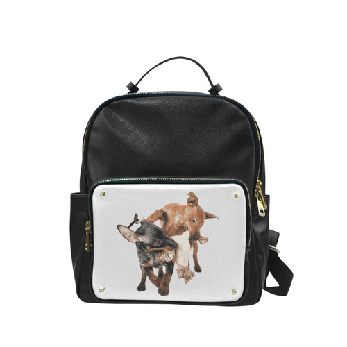 Two Playing Dogs Campus backpack/Large (Model 1650)