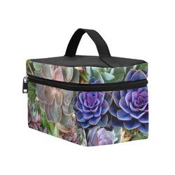 Succulent stories Cosmetic Bag/Large (Model 1658)