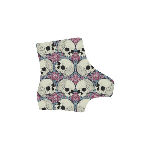 Sugar Skull Martin Boots For Women Model 1203H