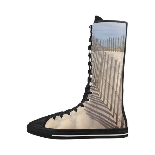 beach sneaker boots tall
