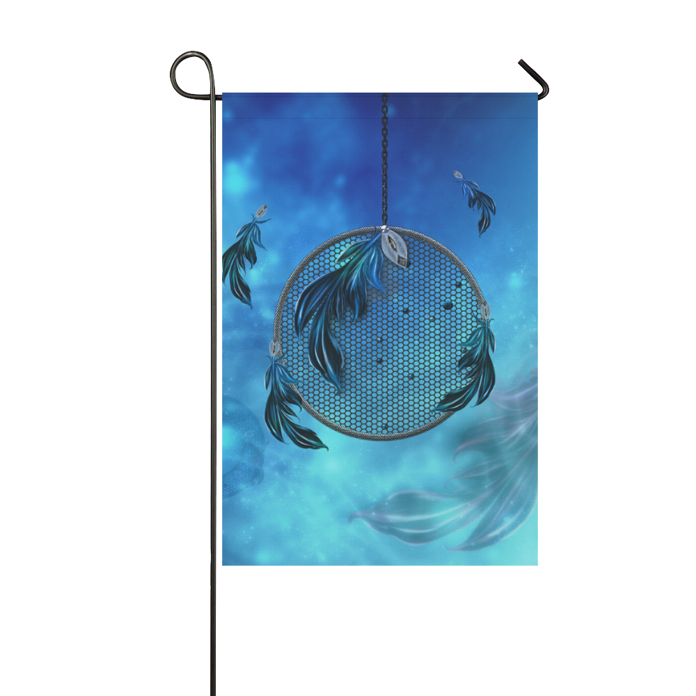 Dreamcatcher, blue colors Garden Flag 12''x18''(Without Flagpole)