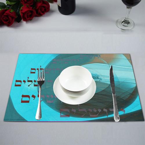 Jerusalem 12x23-5 Placemat 12'' x 18'' (Two Pieces)