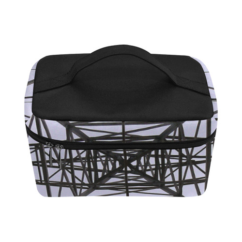 Power Line Tower Cosmetic Bag/Large (Model 1658)