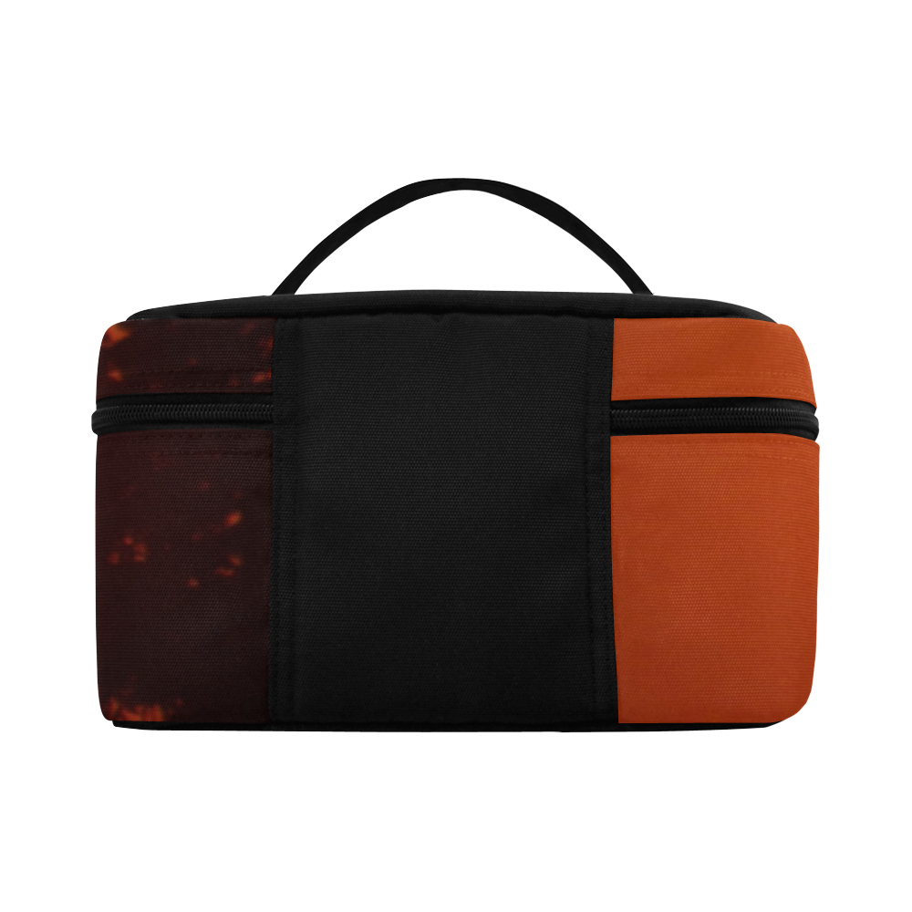 August Sunset Cosmetic Bag/Large (Model 1658)