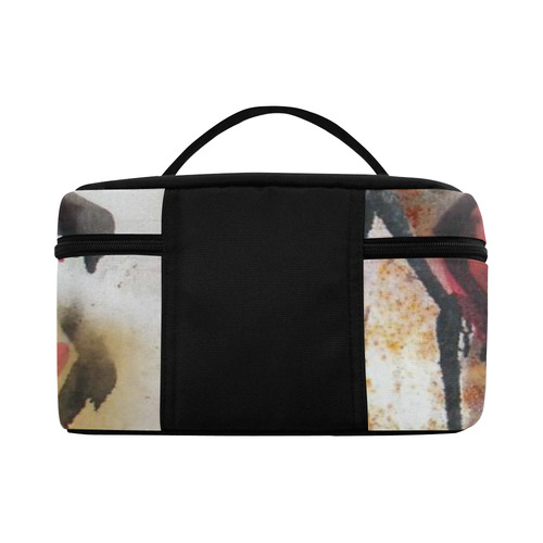 Poppy Graffiti Cosmetic Bag/Large (Model 1658)
