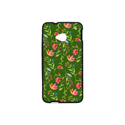 Sunny Garden I Hard Case for HTC ONE M7(Laser Technology)