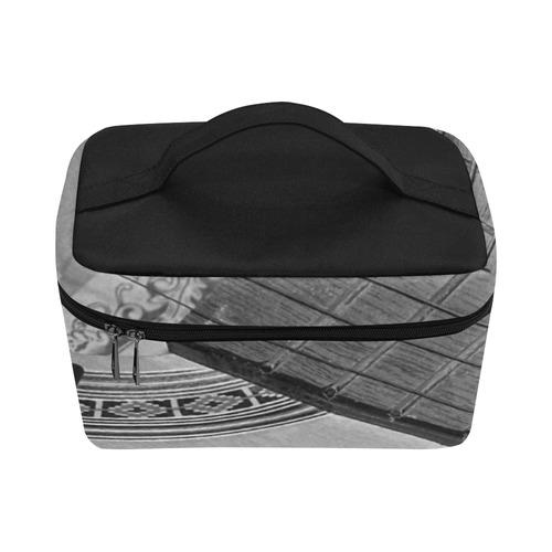 Guitar Face Cosmetic Bag/Large (Model 1658)