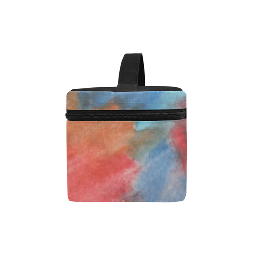 Stained Glass Brush Strokes Cosmetic Bag/Large (Model 1658)