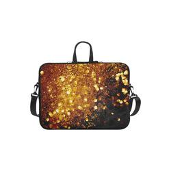 Golden glitter texture with black background Macbook Air 11''