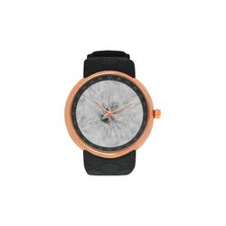 Cotton Light - Jera Nour Men's Rose Gold Resin Strap Watch(Model 308)