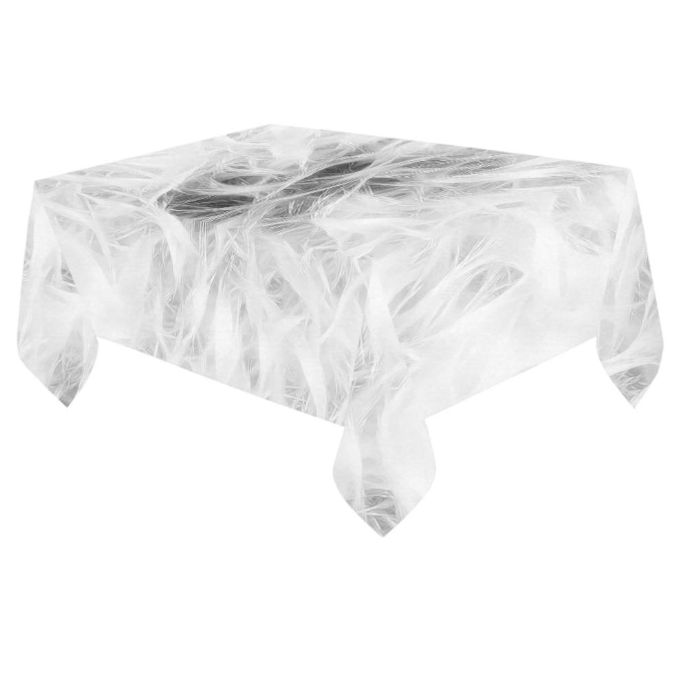 """Cotton Light - Jera Nour Cotton Linen Tablecloth 60""""x 84"""""""