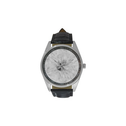 Cotton Light - Jera Nour Men's Casual Leather Strap Watch(Model 211)