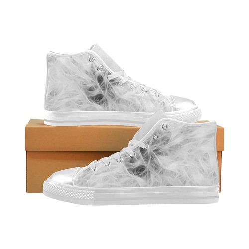 Cotton Light - Jera Nour High Top Canvas Shoes for Kid (Model 017)