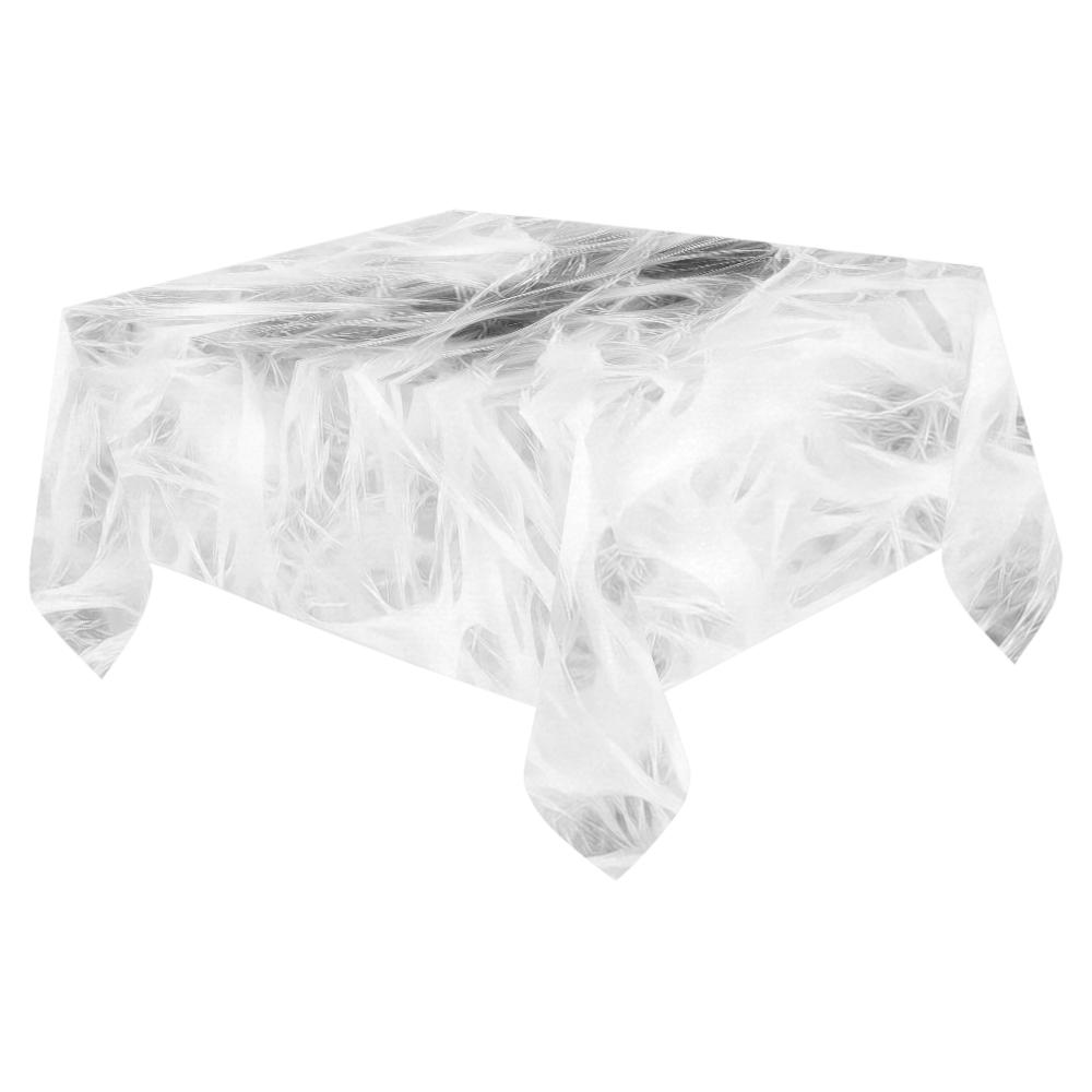 """Cotton Light - Jera Nour Cotton Linen Tablecloth 52""""x 70"""""""