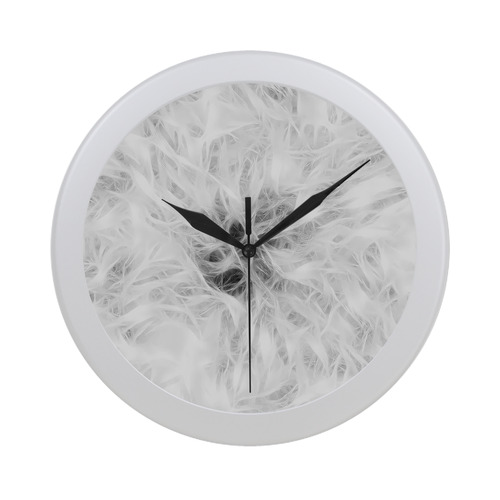 Cotton Light - Jera Nour Circular Plastic Wall clock