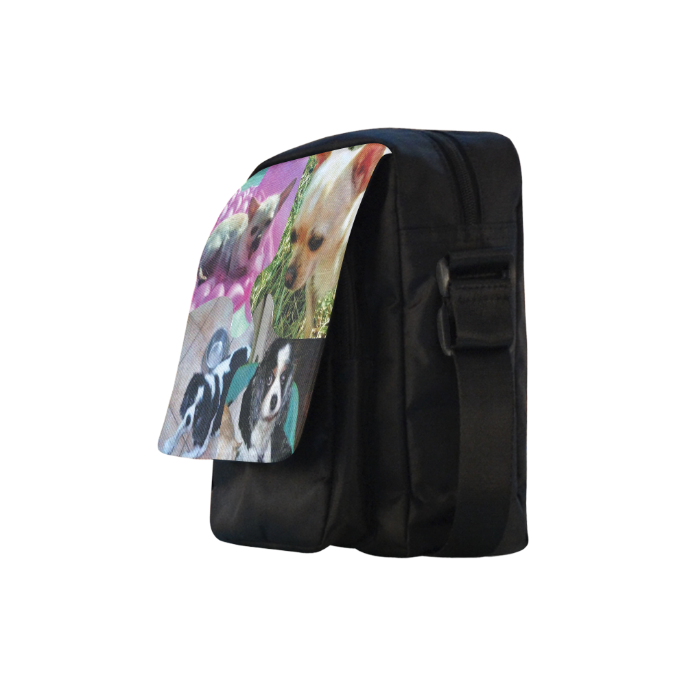 CUTY Crossbody Nylon Bags (Model 1633)