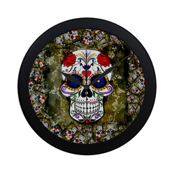 Skull20170278_by_JAMColors Circular Plastic Wall clock