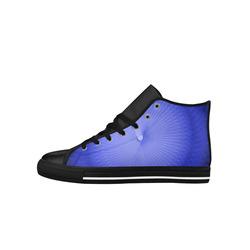Blue Plafond Aquila High Top Microfiber Leather Men's Shoes (Model 027)