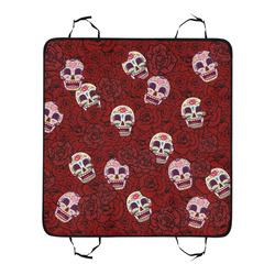 Rose Sugar Skull Pet Car Seat 55''x58''