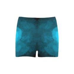 Blue Fluffy Heart, Valentine Briseis Skinny Shorts (Model L04)