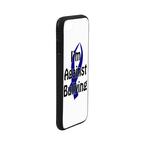 Anti Bullying Blue Ribbon Rubber Case For Iphone 7 4 Id D1399316