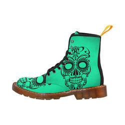 Skull20170335_by_JAMColors Martin Boots For Women Model 1203H