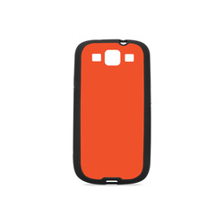 Trendy Basics - Trend Color FLAME Rubber Case for Samsung Galaxy S3