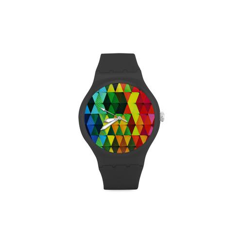 HARLEQUIN Unisex Round Rubber Sport Watch(Model 314)