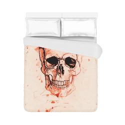"""Boom Skull by Popart Lover Duvet Cover 86""""x70"""" ( All-over-print)"""